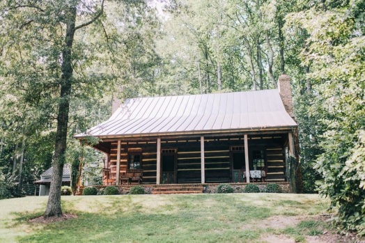 log-home-front