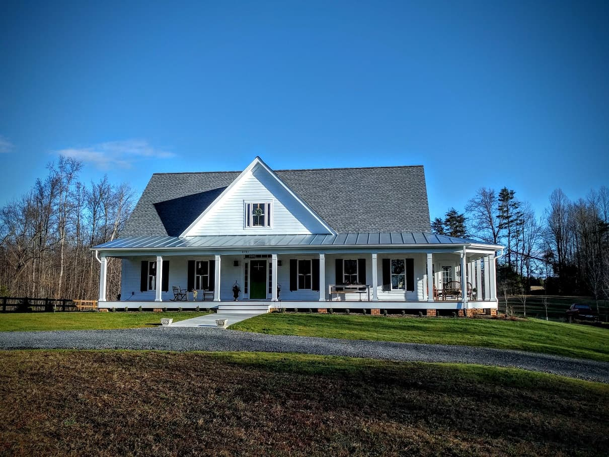 The crook house for Custom home builders charlottesville va