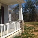 front porch features of home