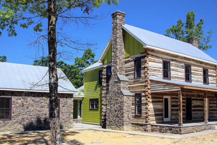 Vintage Log Cabin Charlottesville VA