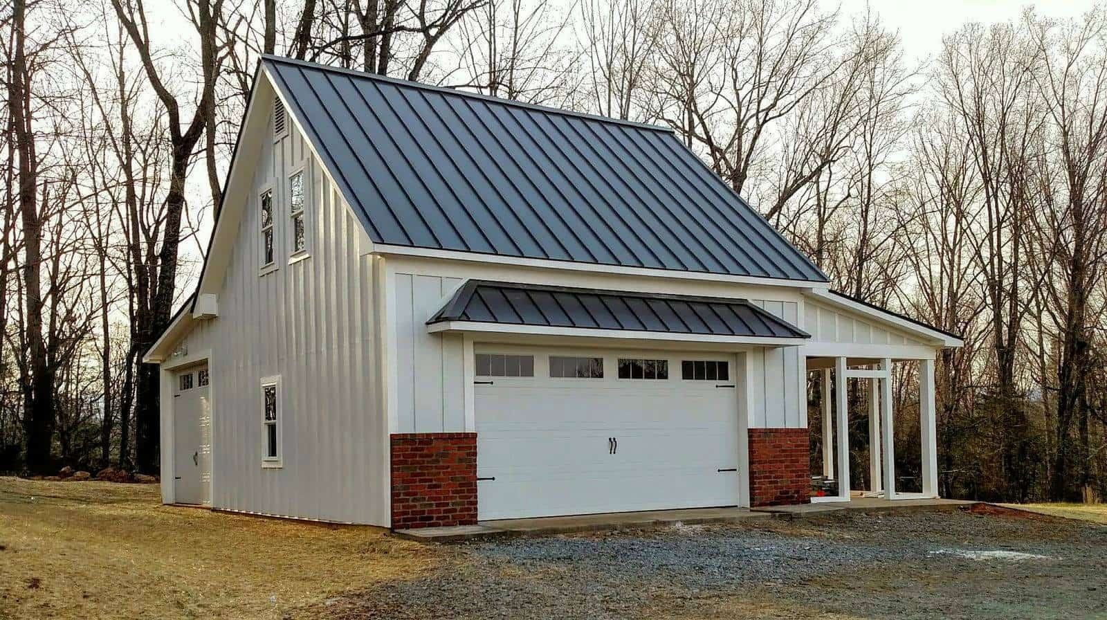 How much does a metal roof cost for Metal barn homes cost